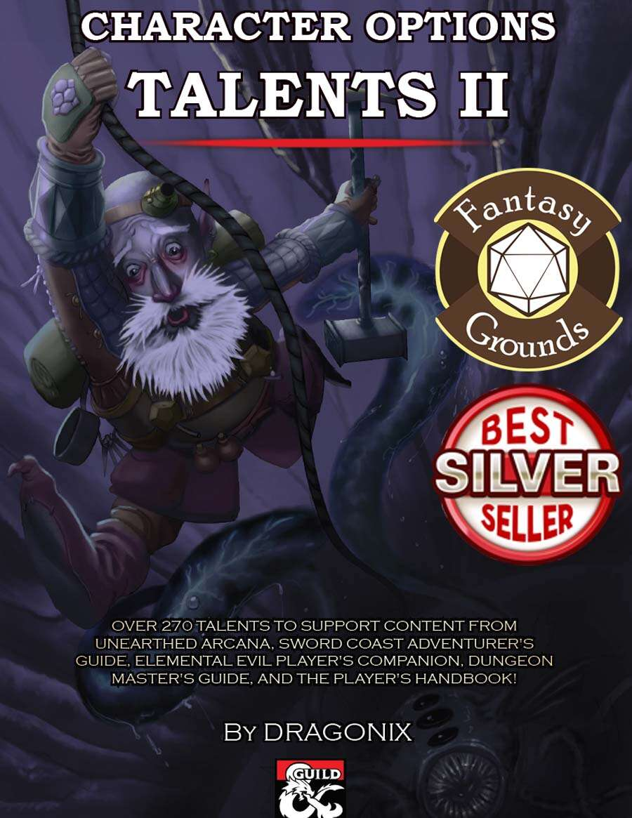 Character options talents ii 5e pdf