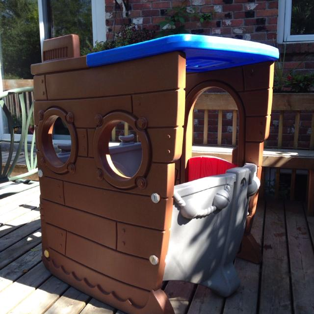 little tikes pirate ship playhouse instructions