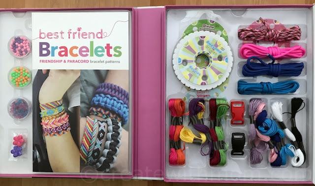 Spice box friendship bracelets instructions