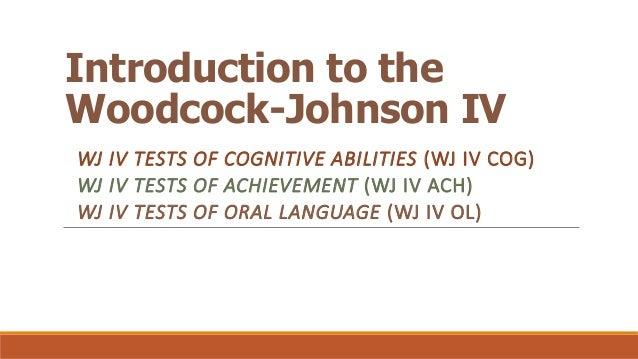 Woodcock johnson writing samples scoring guide