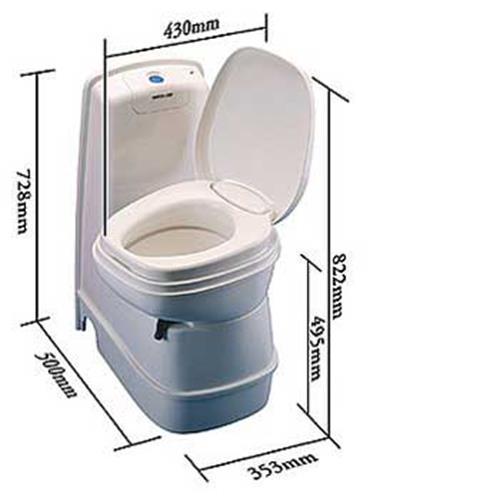 thetford cassette toilet instruction manual