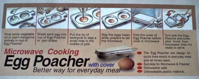 raco egg poacher instructions