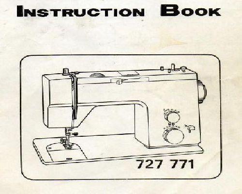 toyota 8000 sewing machine instruction manual