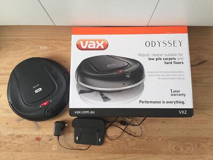 vax odyssey robotic vacuum cleaner manual