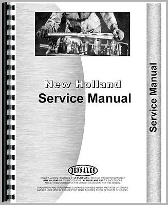 new holland service manuals online