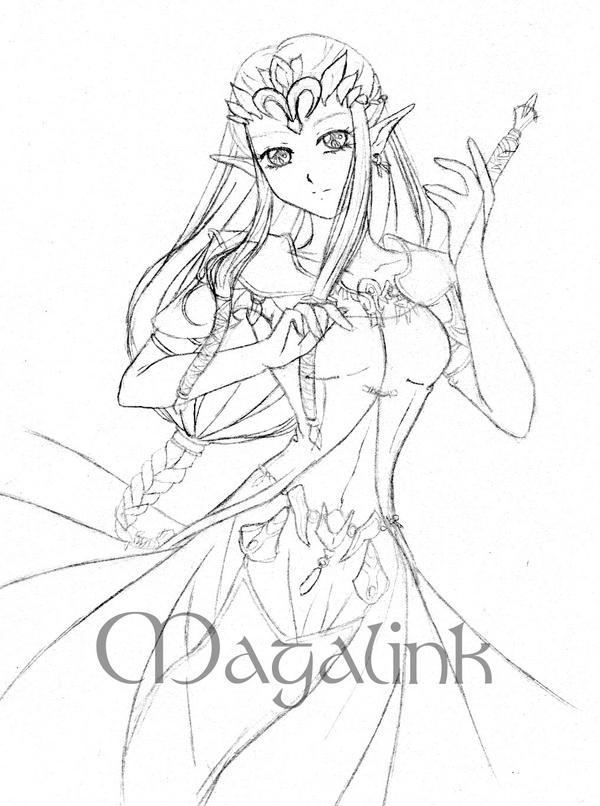 Zelda breath of the wild manga how to draw