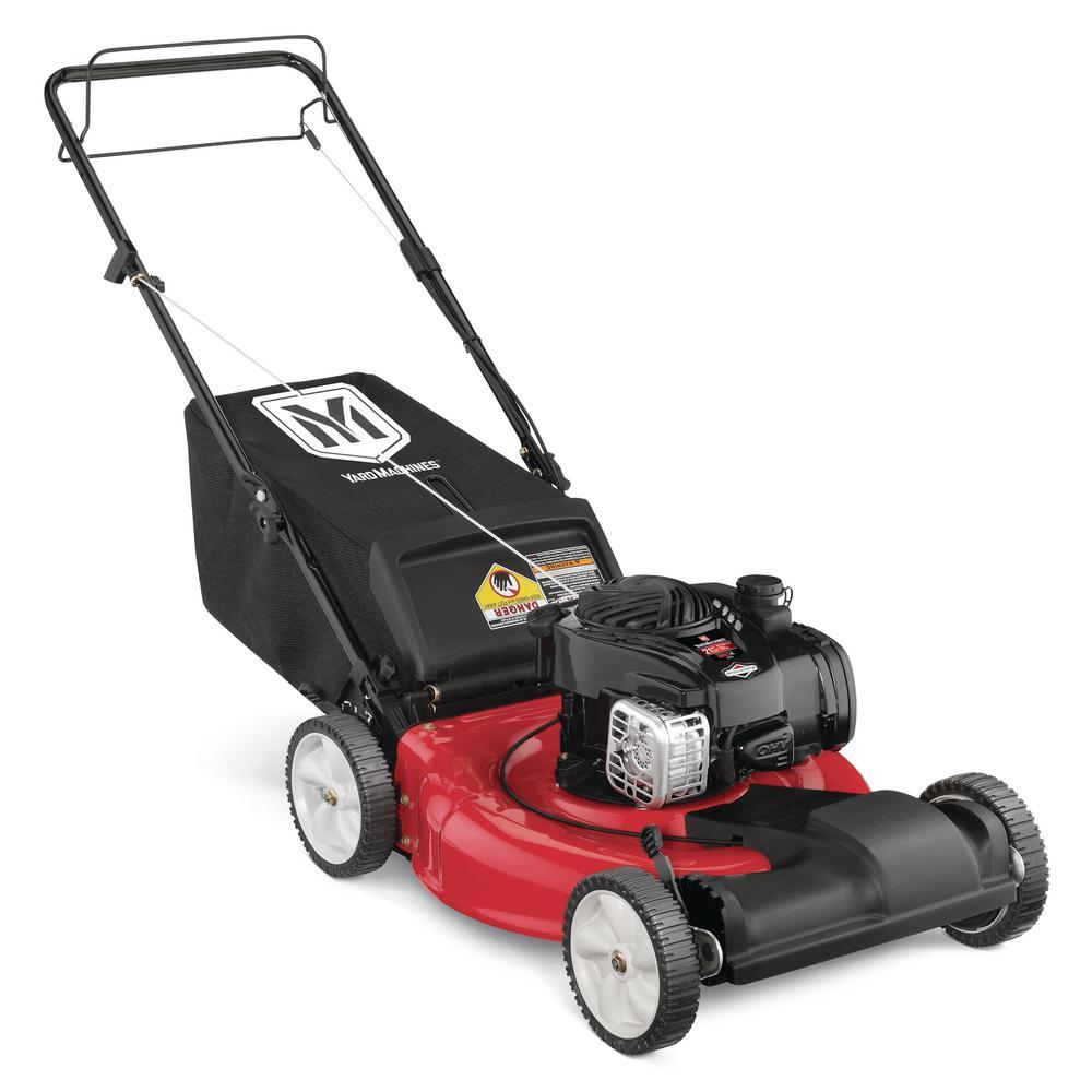 Yard machine lawn mower manual