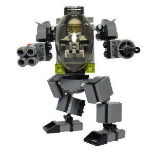 Lego mech building instructions