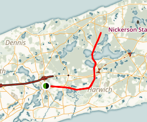 Cape cod bike trail map pdf