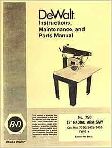 craftsman 12 inch radial arm saw manual