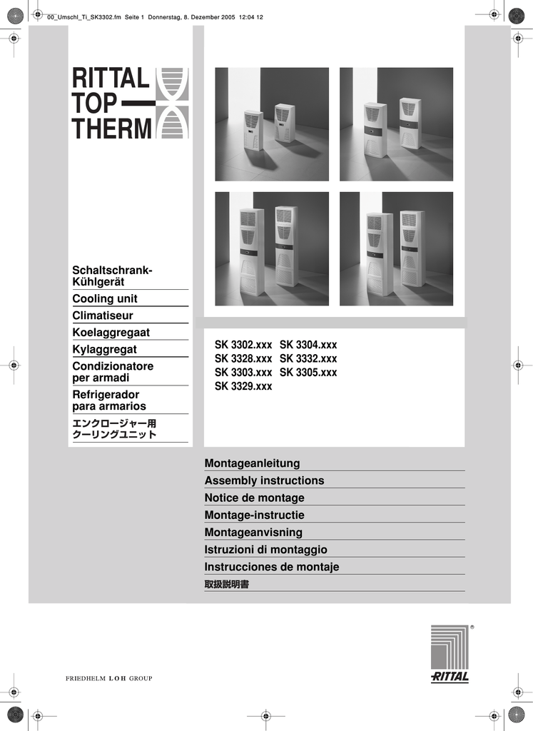 rittal top therm sk 3304 manual
