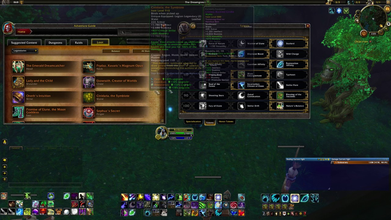 Wow legion druid tank guide 7.1