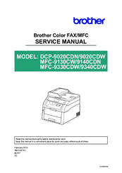 brother mfc 7360n service manual
