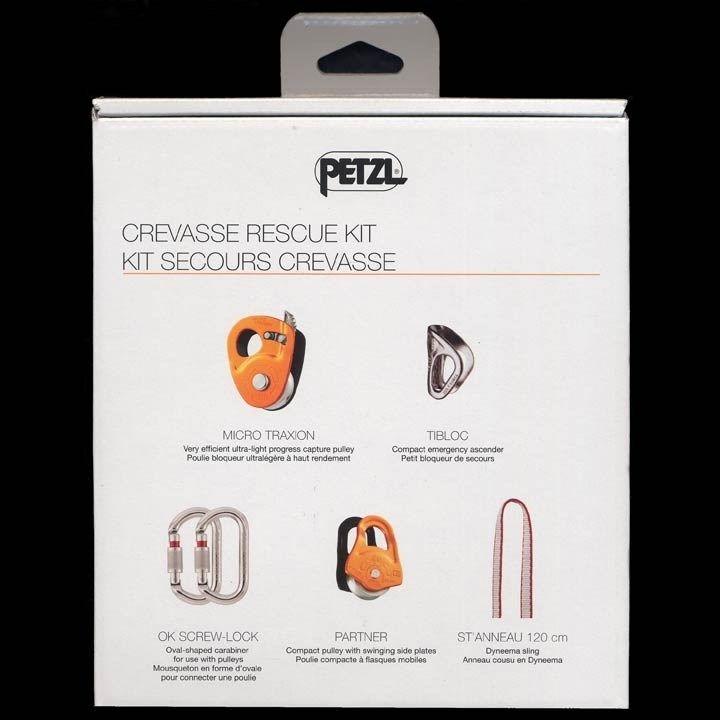 petzl crevasse rescue kit instructions