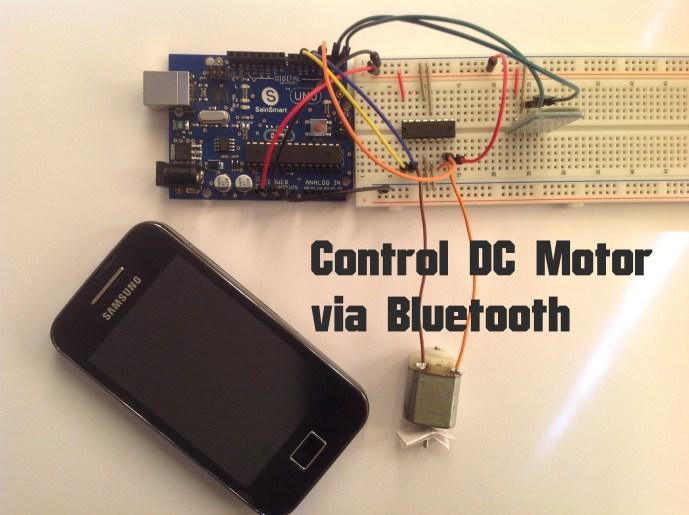 Arduino control 2 dc motors via bluetooth pdf