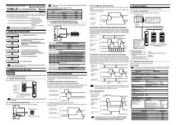 rex series instruction manual