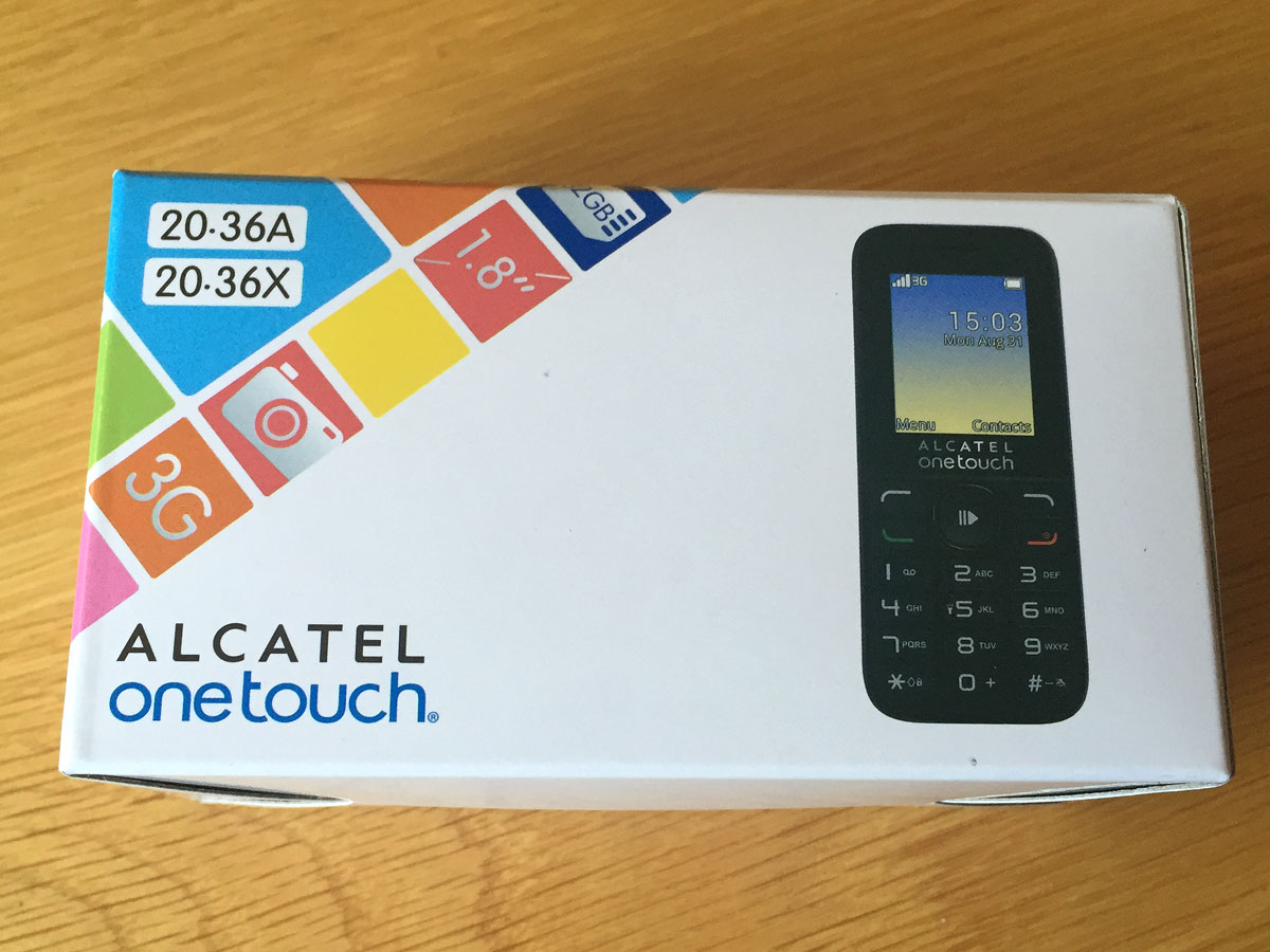 Alcatel one touch 2036x manual