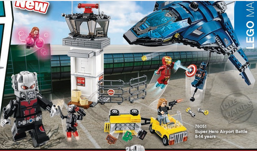 lego captain america civil war airport battle instructions