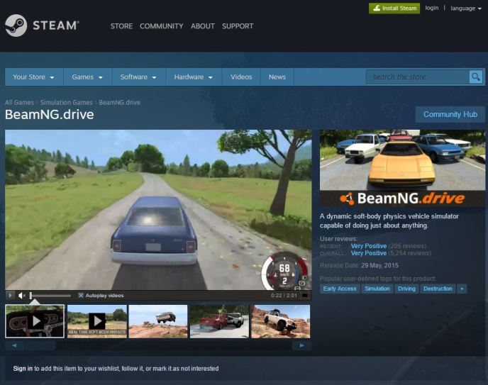 Beamng drive how to change options