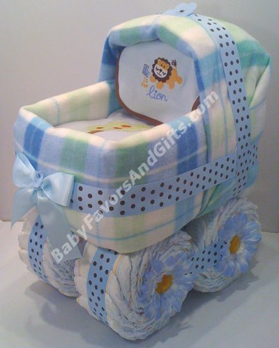 nappy cake pram instructions