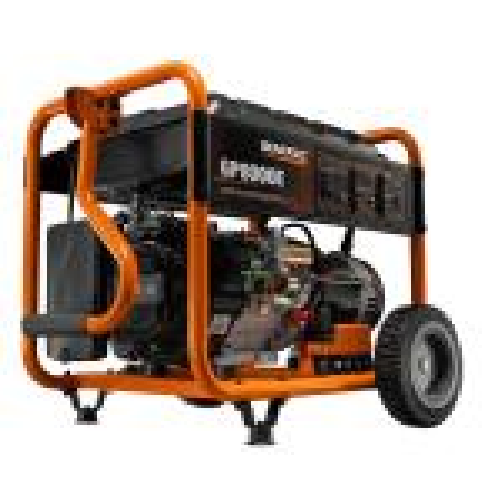 king 6500 watt generator manual