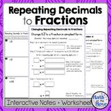 Terminating and repeating decimals worksheet pdf