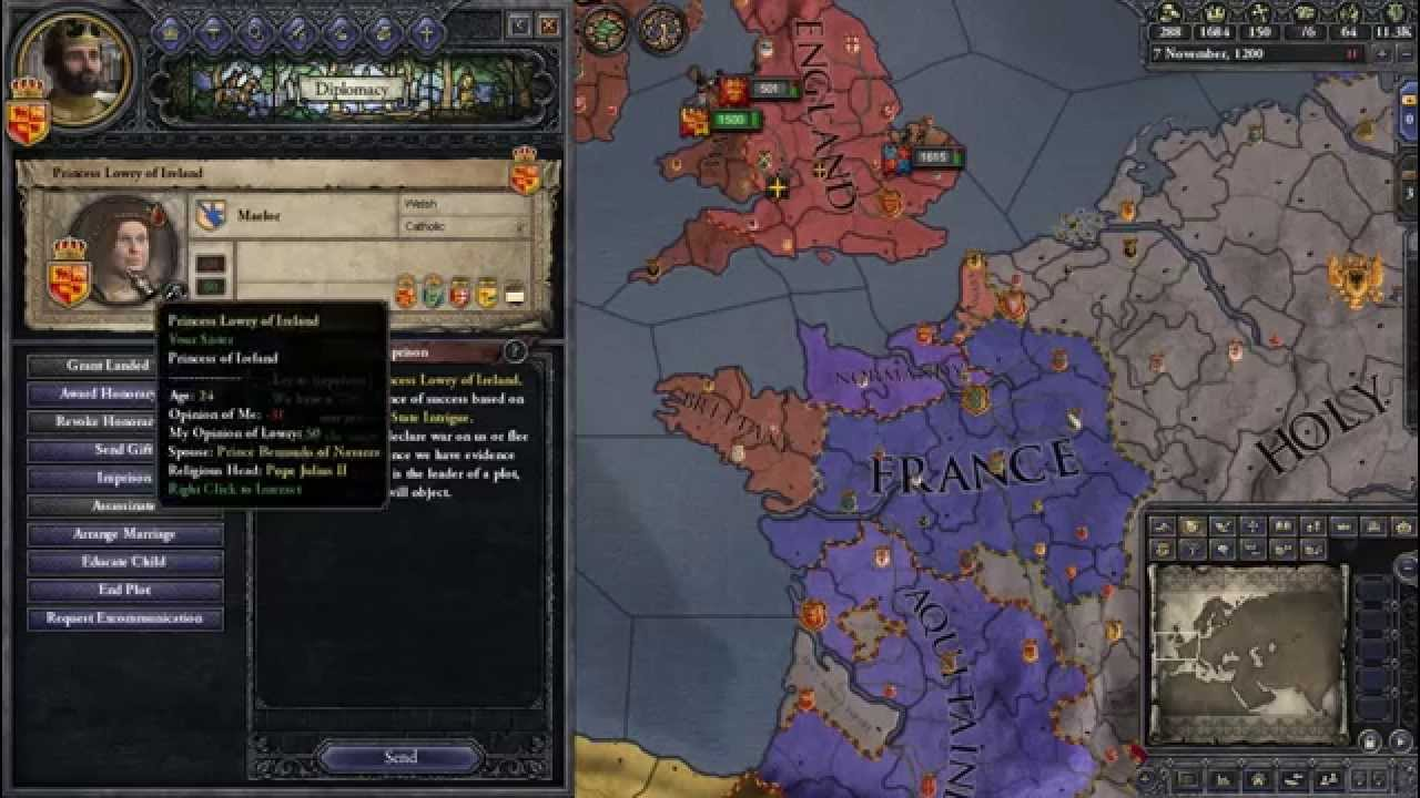 Ck2 how to play gavelkind