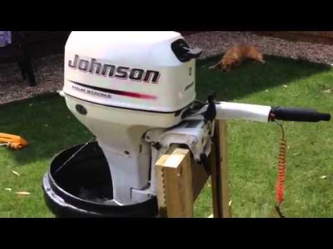 johnson 8hp outboard motor manual