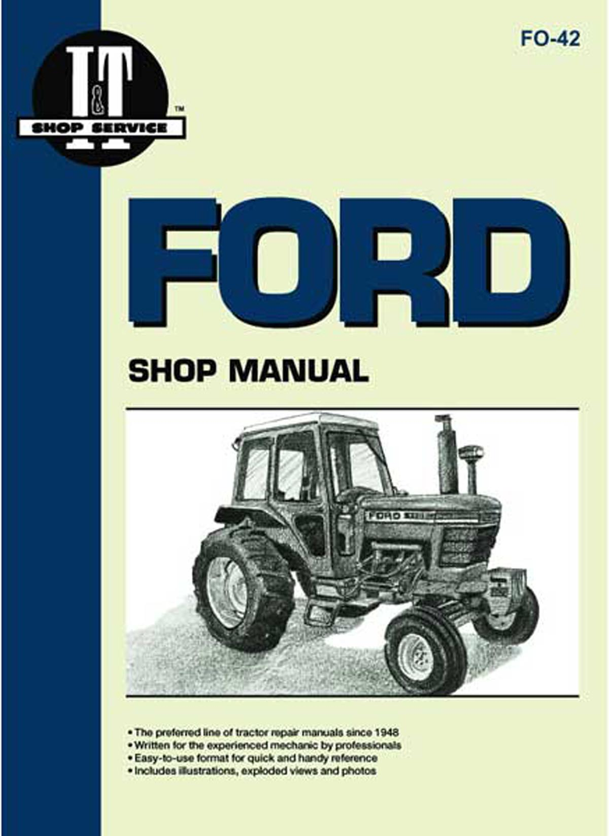 Ford 6610 tractor parts manual