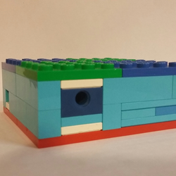 easy lego puzzle box instructions