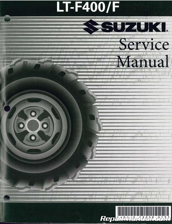 Suzuki eiger 400 service manual pdf