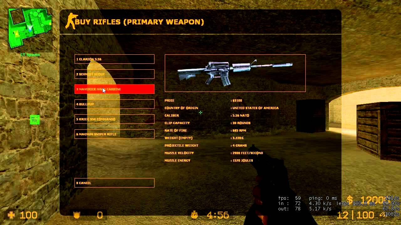 Counter strike how to buy weapons