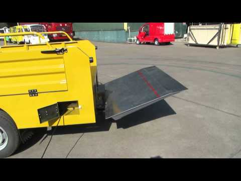 Dhollandia tail lift operating instructions