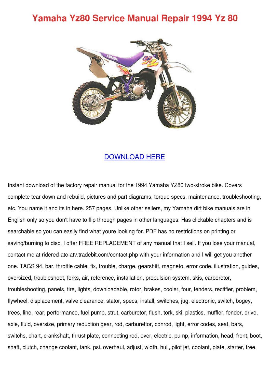 bison 80 service manual pdf