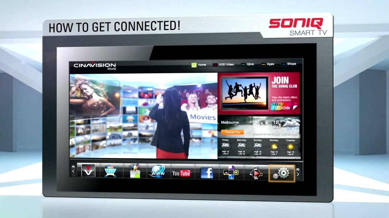 Soniq smart tv user manual