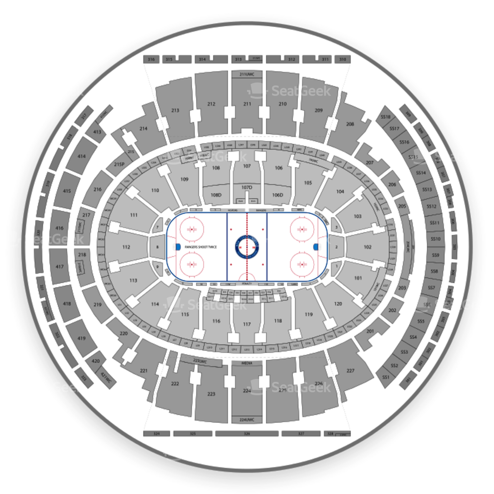 Msg detailed seating chart pdf