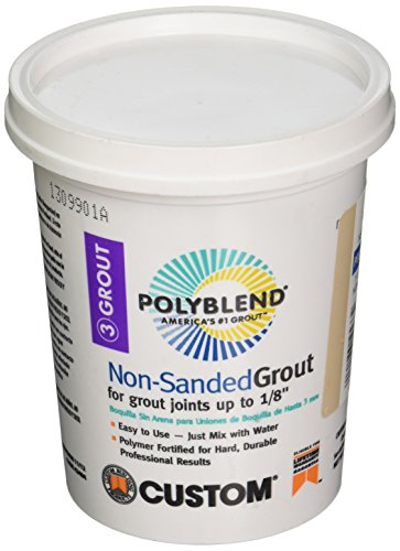 polyblend non sanded grout mixing instructions