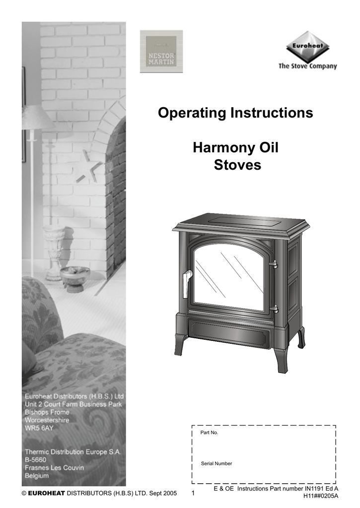 efel oil stove lighting instructions