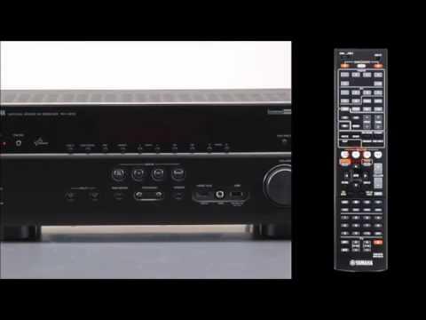 Yamaha receiver rx v675 manual