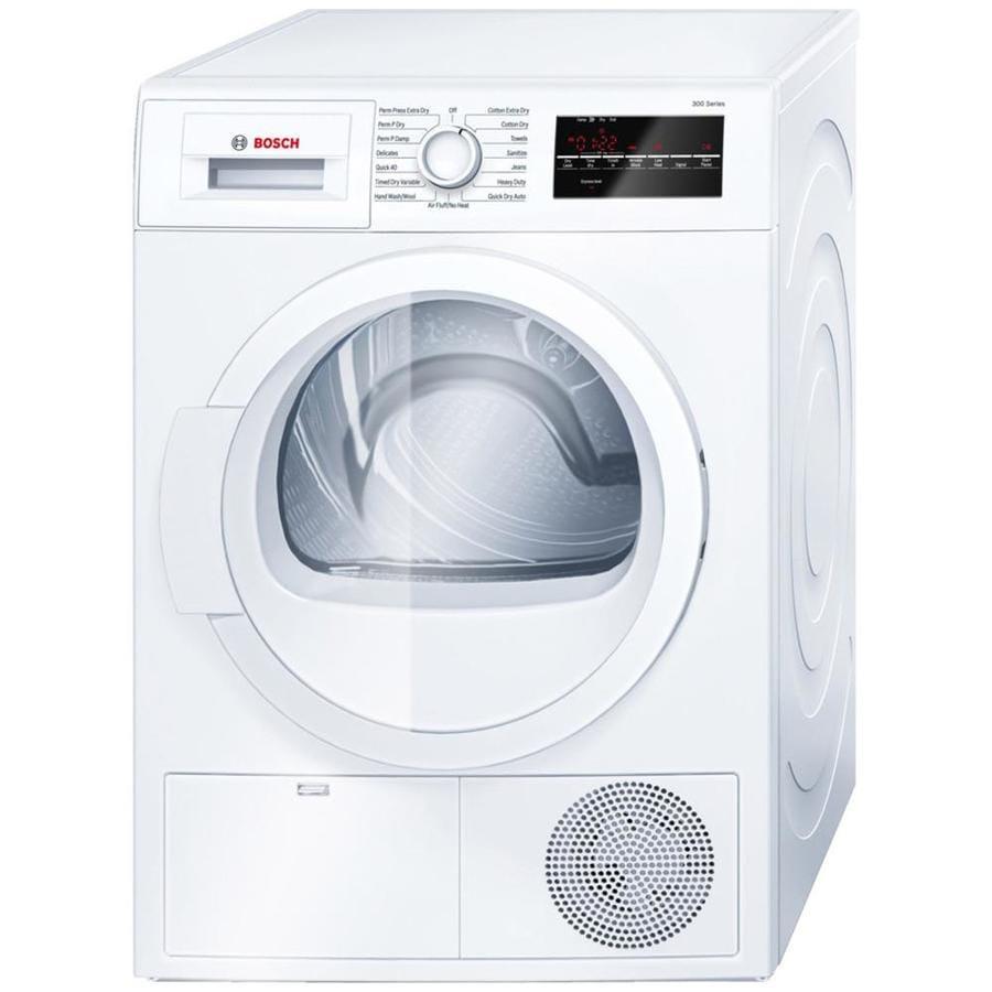 bosch stackable washer dryer installation instructions