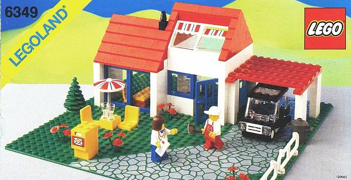 old lego instructions 1980