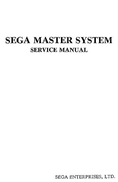 sega key master manual pdf