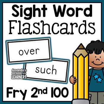 Fry sight word flashcards pdf