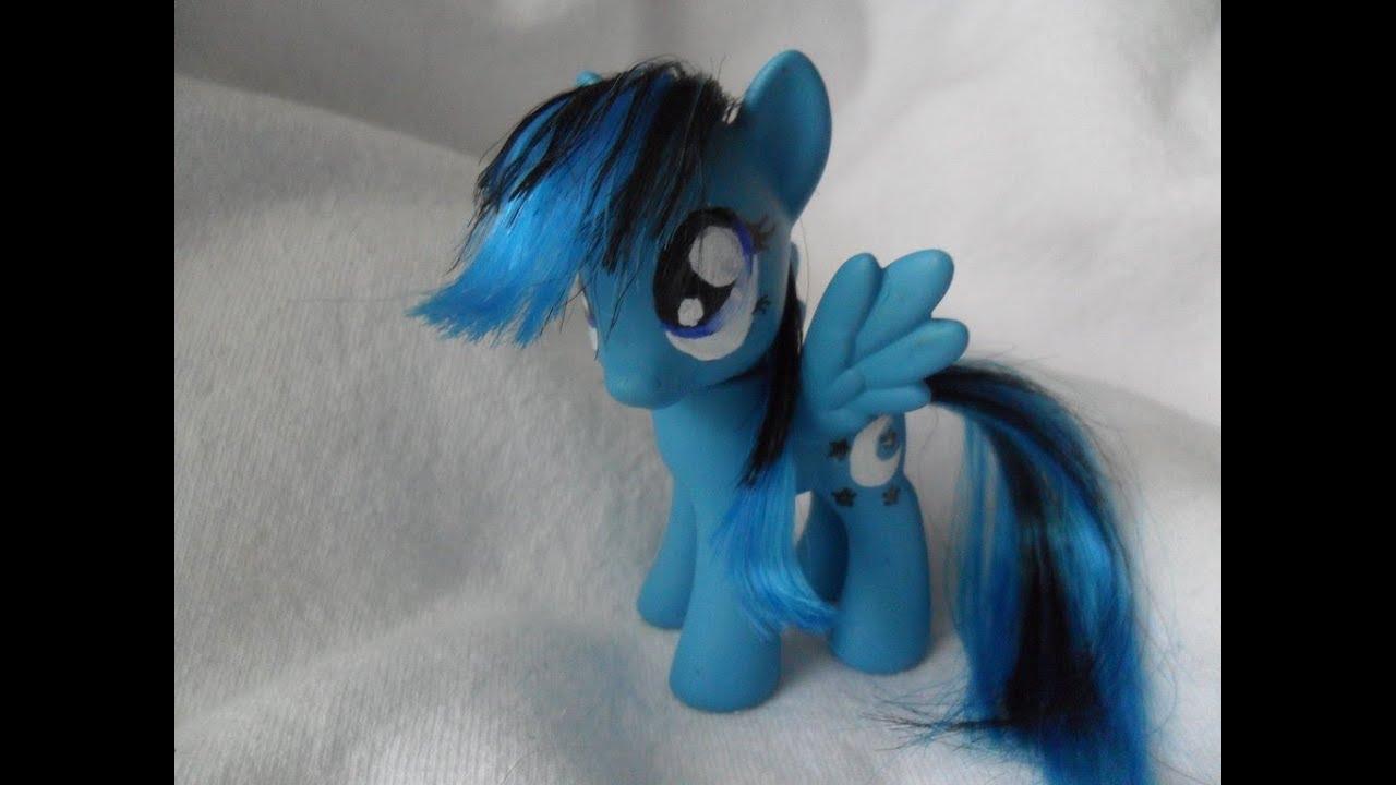My little pony how to create custom crystal pony