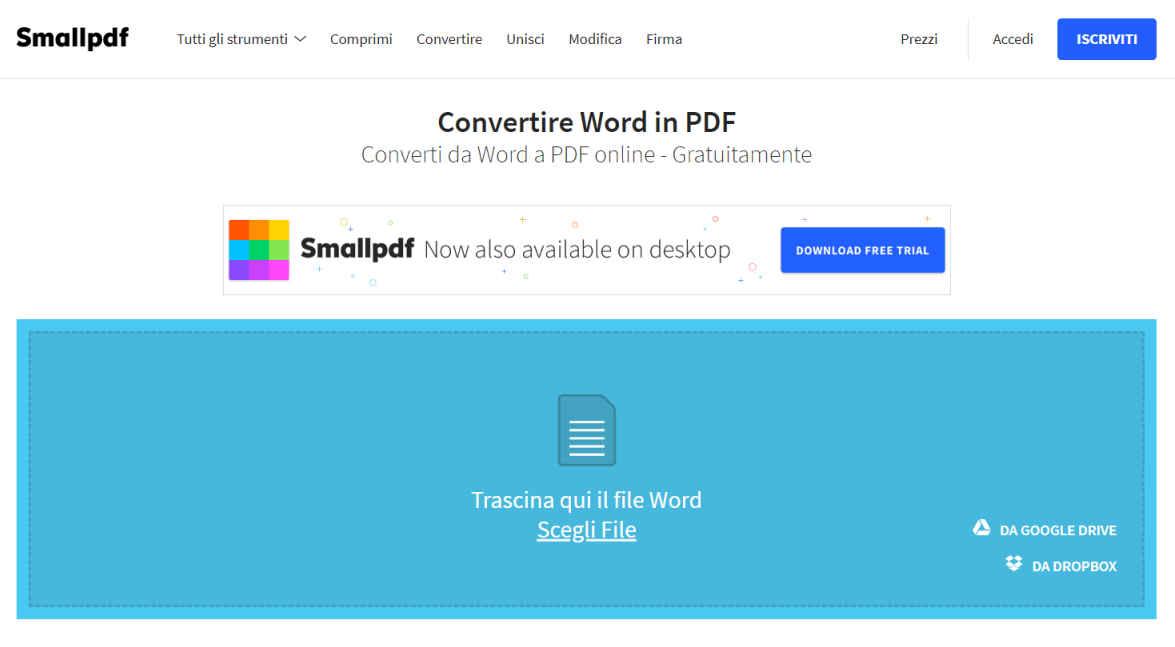 Transformare pdf in word online