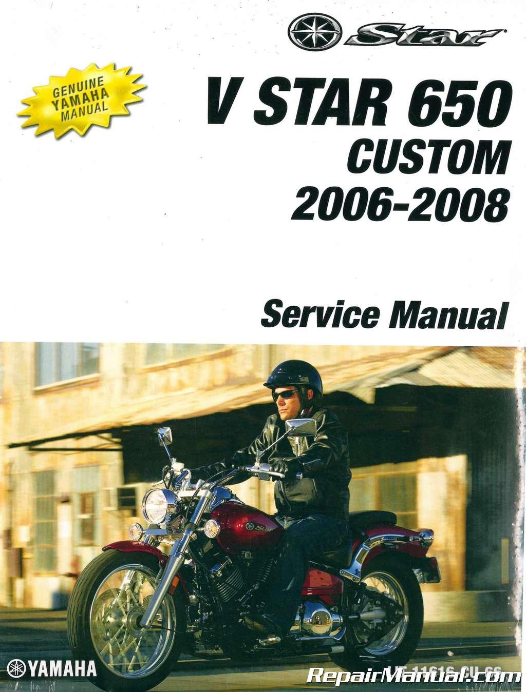 yamaha v star 650 parts manual