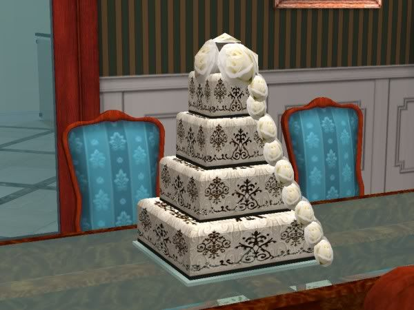 Sims 4 how to get a wedding cake