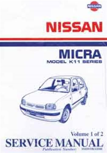 Nissan micra k11 manual pdf