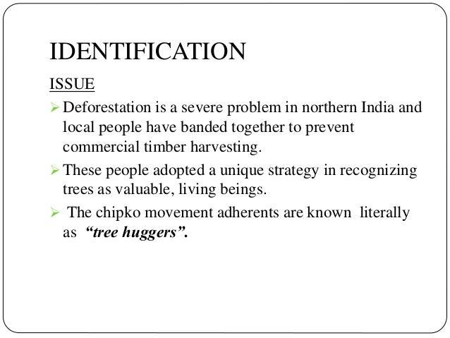 Chipko movement case study pdf