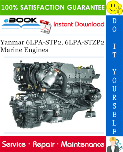 Yanmar 6lpa stp2 service manual